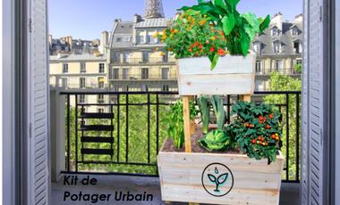 Visueel van project Kits de potagers urbains, campus Arts et Métiers de Paris