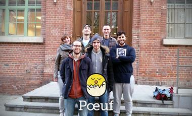 Visuel du projet Poeuf, campus Arts et Métiers de Lille