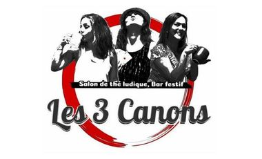 Project visual Les 3 Canons : Salon de thé ludique & Bar festif