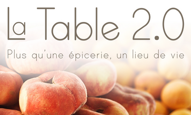 Visueel van project La Table 2.0