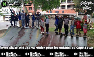 Project visual Avec Skate-Aid, ça va rouler pour les enfants de Cape Town