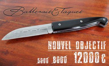 Visuel du projet BALLERAIT & TAQUET, Couteliers créateurs à Paris