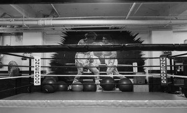 """Visueel van project Portrait d'un gym de boxe par une """"Underdog"""""""