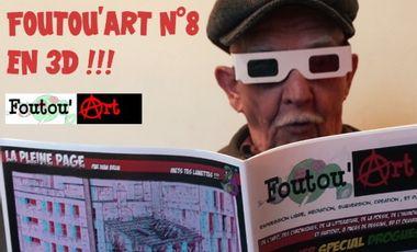 Visueel van project Nouveau Foutou'art en 3D !