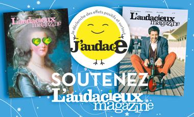 Visuel du projet L'audacieux magazine