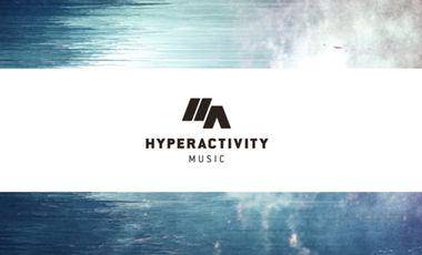 Project visual Lancement du label Hyperactivity Music
