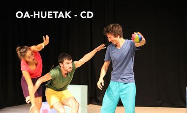 Project visual Oa-Huetak - CD