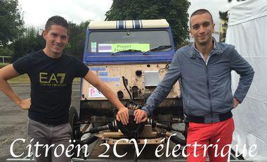 Visuel du projet Aidez nous à créer une 2CV électrique !