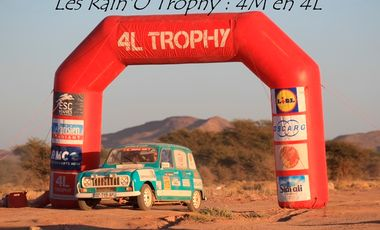 Visueel van project Les Rain'O Trophy : 4M en 4L (4L Trophy 2017)