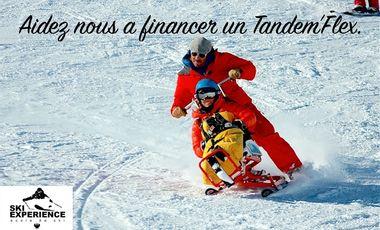 Project visual TANDEM'FLEX, le ski à la portée de tous