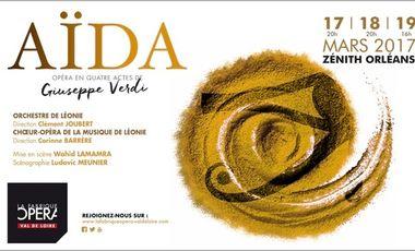 Visueel van project La Fabrique Opéra Val de Loire présente AÏDA en 2017