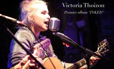 """Visuel du projet Victoria Thoizon - Premier album """"INKED"""""""