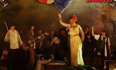 Visueel van project 58 Shots nouvel album: French Rock Revolution