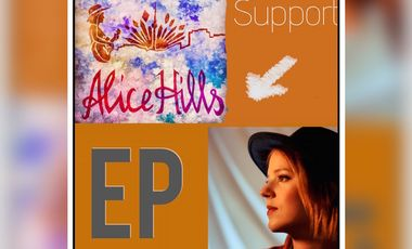 Project visual Alice Hills EP recordings
