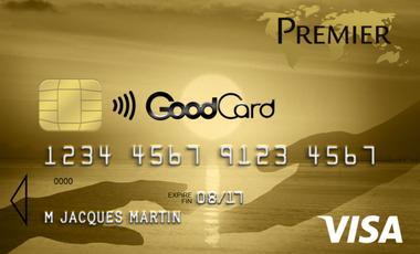 Visueel van project La GoodCard