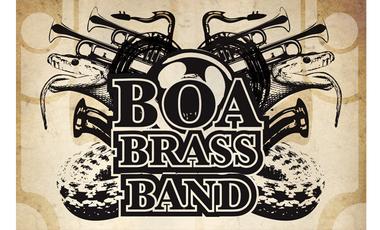 "Visueel van project BOA BRASS BAND nouvel album : ""Boa Brass Land"""