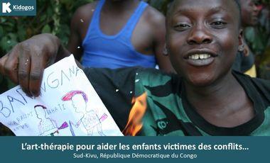 Visueel van project Art-thérapie et enfants victimes des conflits...