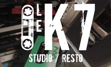 Project visual Le K7, lieu d'échange et de création