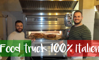 Visueel van project Food truck 100% Italien