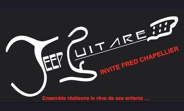Project visual Fred Chapellier invité par Jeep Guitare