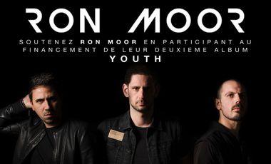 """Project visual Deuxième album de Ron Moor """"YOUTH"""""""