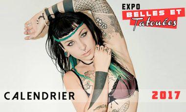 Project visual Calendrier Belles et Tatouées - Soutenez les TatooGirls