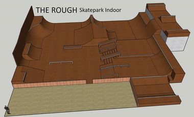 Project visual Skatepark Indoor