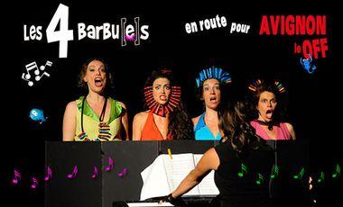 Visueel van project Les 4 Barbues au festival d'Avignon