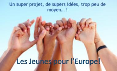 Visuel du projet Les jeunes pour l'Europe!