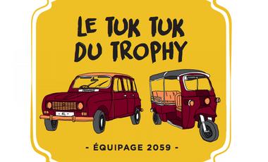 Project visual Le Tuk Tuk du Trophy - 4L Trophy 2017