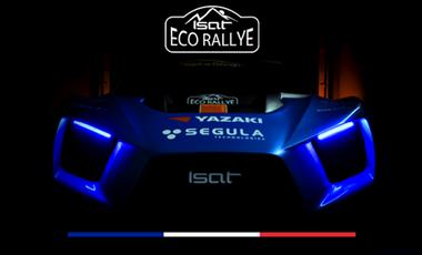 Visueel van project ISAT Eco Rallye