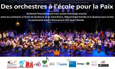 Visuel du projet Des orchestres à l'école pour la Paix