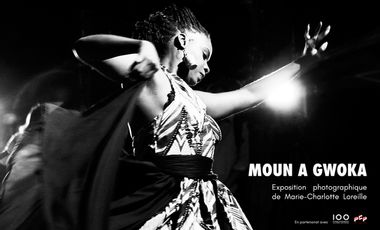Visuel du projet MOUN A GWOKA – Exposition de Marie-Charlotte Loreille