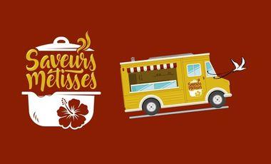 Project visual Ô saveurs métisses, le camion créole solidaire