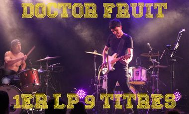Project visual DOCTOR FRUIT 1er LP 9 Titres