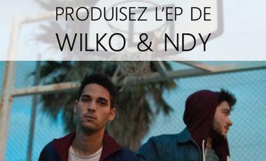 Visueel van project Produisez l'EP de Wilko & NDY