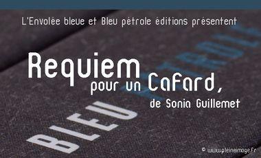 """Visuel du projet Soirée de lancement du livre """"Requiem pour un cafard"""", publié aux éditions Bleu pétrole"""