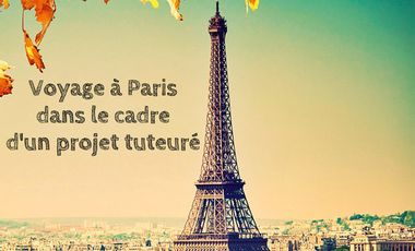 Visueel van project Projet tuteuré : voyage à Paris