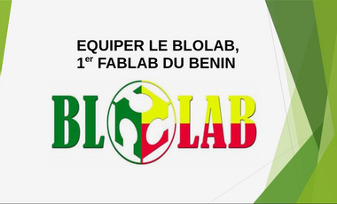 Project visual BloLab, 1er FabLab du Bénin