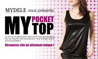 Project visual My pocket top