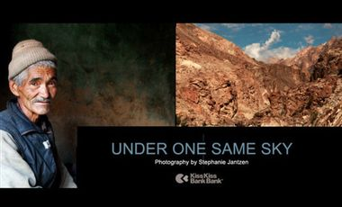 Project visual UNDER ONE SAME SKY - Les transformations de l'environnement et du mode de vie.