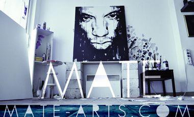 Visueel van project MATE, Artiste peintre...
