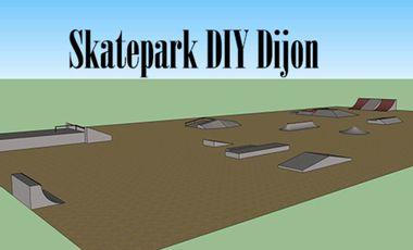 Visueel van project Financez le Skatepark DIY de Dijon