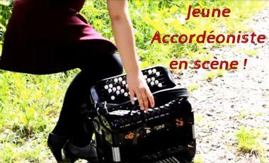 Project visual Jeune Accordéoniste en scène !