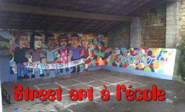 Visuel du projet Street Art à l'école