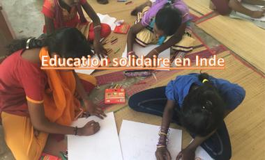 Project visual Education solidaire en Inde