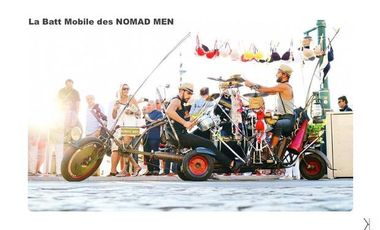 Visuel du projet La Batt Mobile des Nomad Men