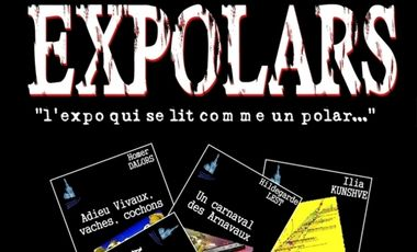 Visueel van project Expolars - le livre