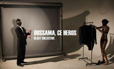 Visueel van project Oussama, ce héros par Blast Collective