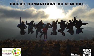 Project visual Projet humanitaire au sénégal EEUDF